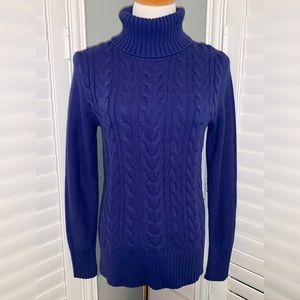 MERONA Beautiful, Classic Cable Knit Turtleneck